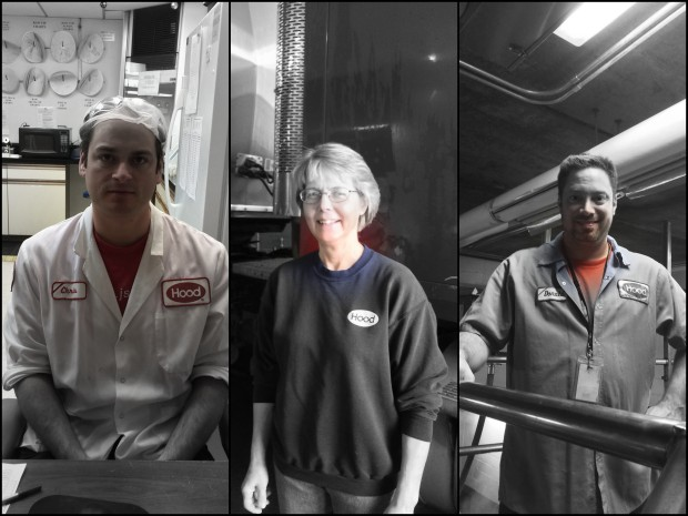 Chris in testing, Tammy in production control, and Donnie in receiving are all dedicated to making sure our milk gets to our neighbours' tables. They ensure high quality and their dedication is second to none.