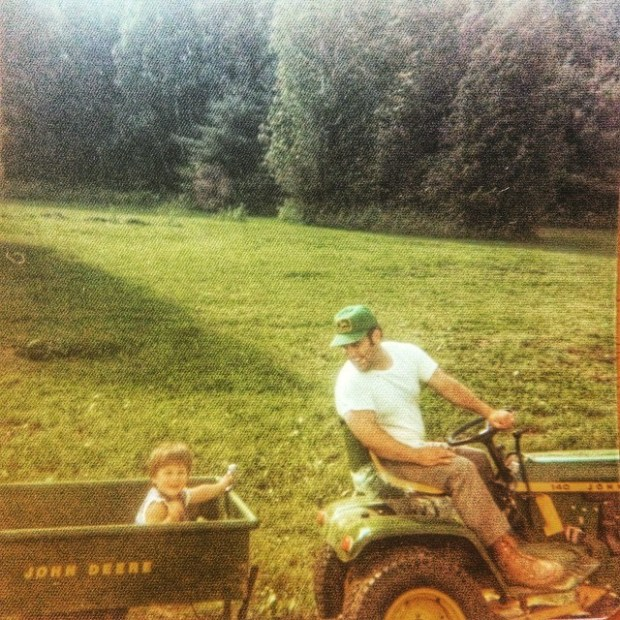 At a young age I was able to hitch my wagon to a good tractor and capable driver.